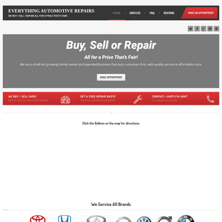 Everything Automotive Repairs - Home