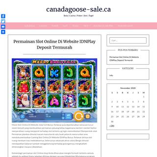 canadagoose-sale.ca - Bola - Casino - Poker - Slot - Togel