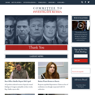 Committee to Investigate Russia