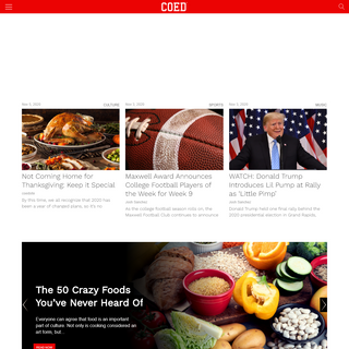 A complete backup of coed.com