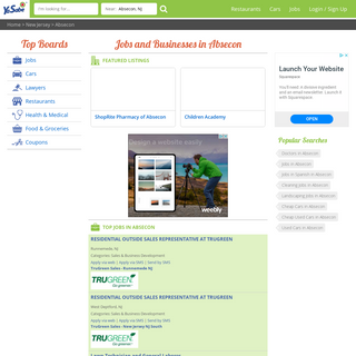 Absecon, NJ Spanish Yellow Pages and Business Listings