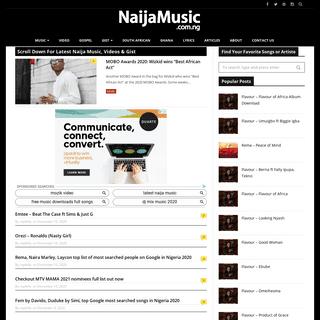 Latest Naija Music - Download Nigerian Music & Videos 2020