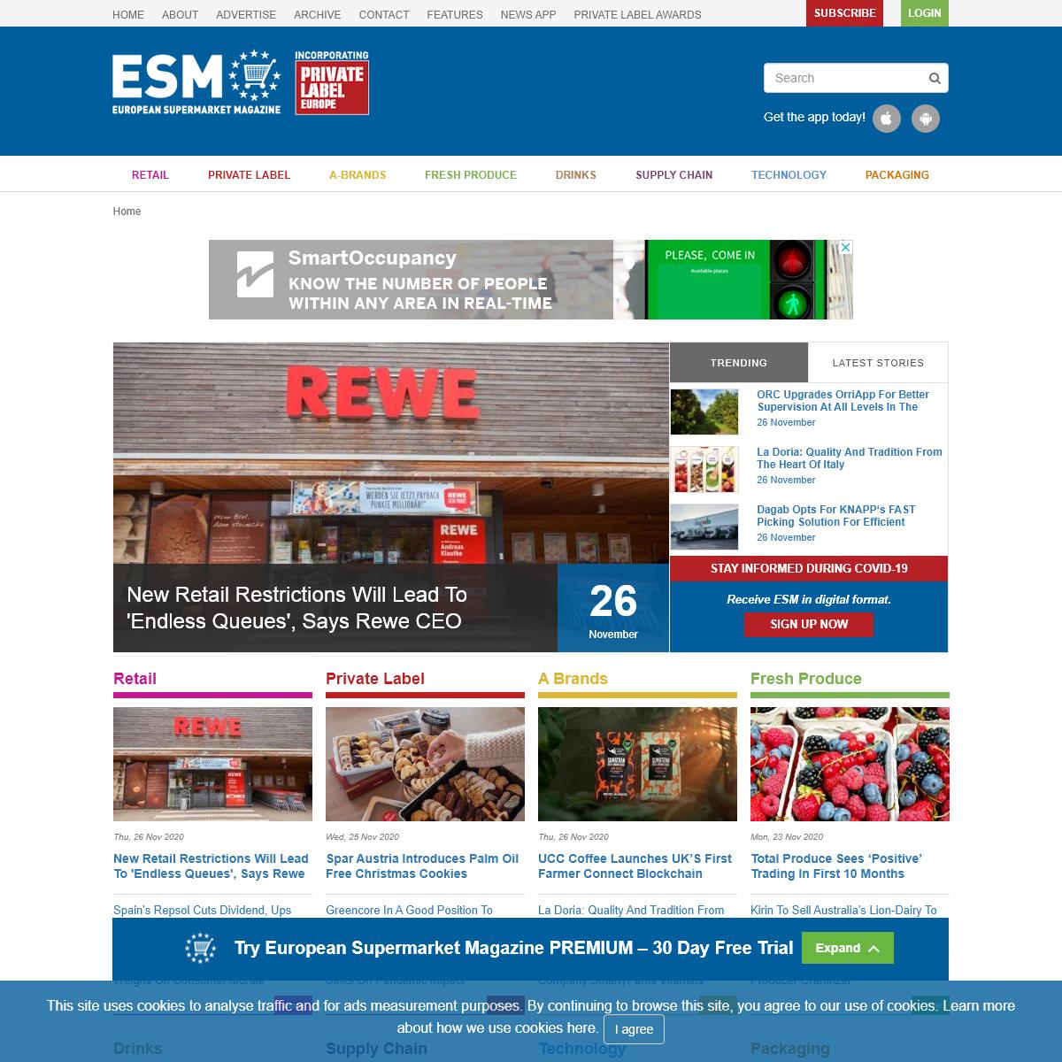 European Supermarket Magazine - ESM Magazine