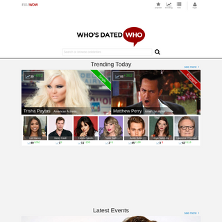 Who`s Dated Who- - In Hollywood it seems everyone`s dated everyone!