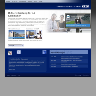 www.krzn.de - Kommunales Rechenzentrum Niederrhein - Startseite