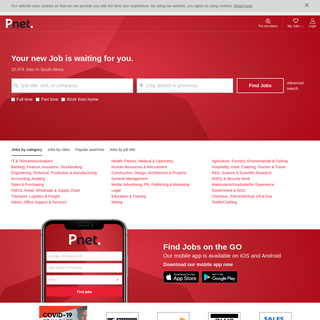 Jobs in South Africa - Job search - Pnet.co.za