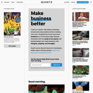 Quartz — Global business news and insights