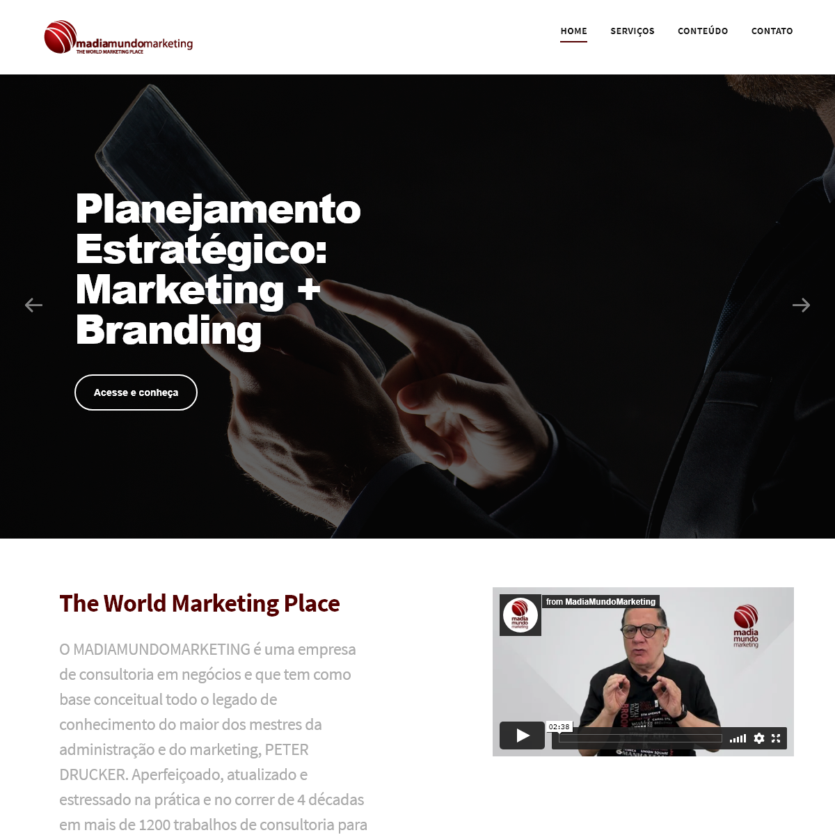 Homepage - MadiaMundoMarketing