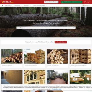 Fordaq - Das größte Netzwerk für Holzhändler und Holzprodukte