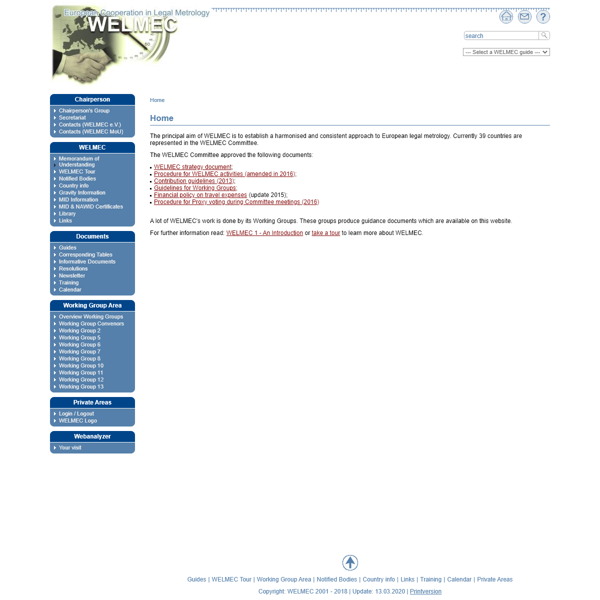 WELMEC - European Legal Metrology