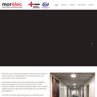 Morelec - Electrical Contractors in Bournemouth