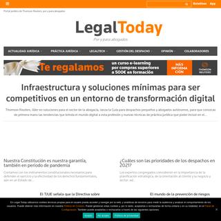 Home - Información jurídica, noticias y artículos - Legal Today