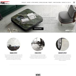 Porcelain Tile Floorings and Wall coverings - FMG Fabbrica Marmi e Graniti