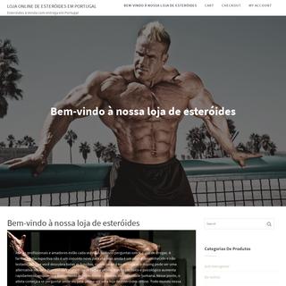 Bem-vindo à nossa loja de esteróides - Loja Online de Esteróides em Portugal