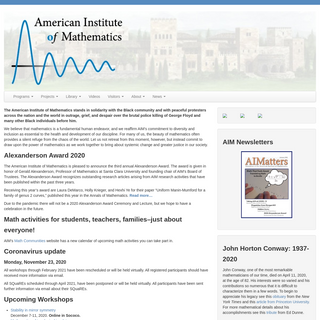 American Inst. of Mathematics