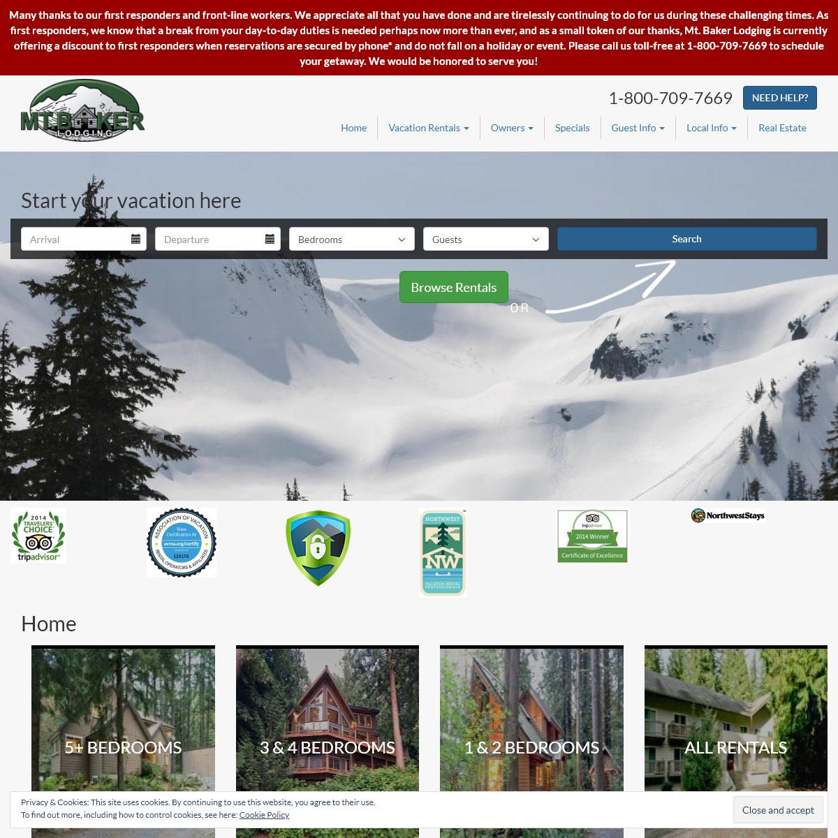 Mt. Baker Lodging, Inc. – Your Gateway to Mt. Baker