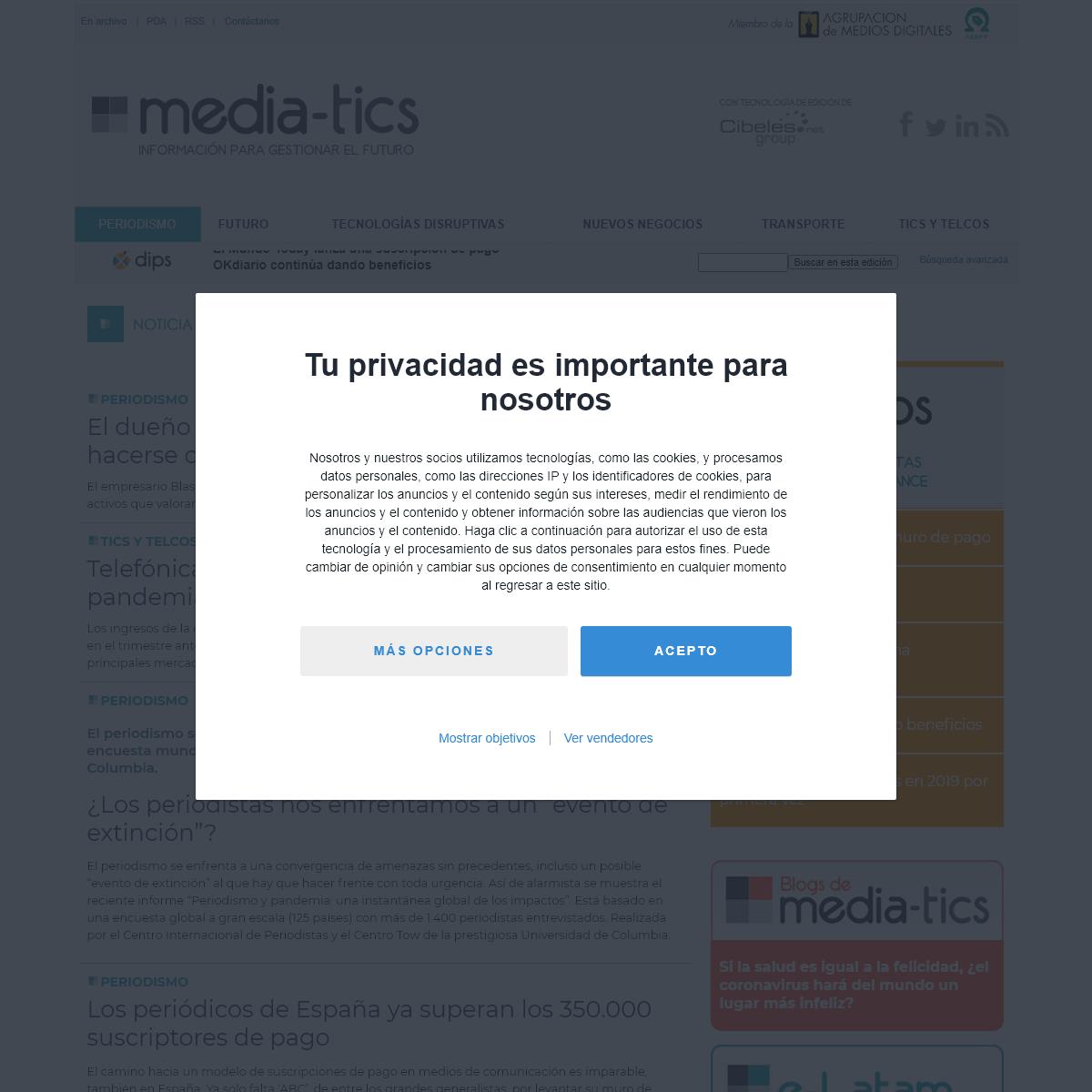 media-tics.com - Información y comunicación en la era digital