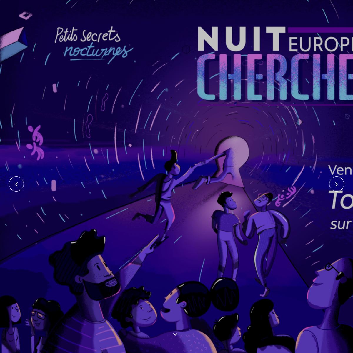 Nuit Europeenne des chercheur.e.s - 2020