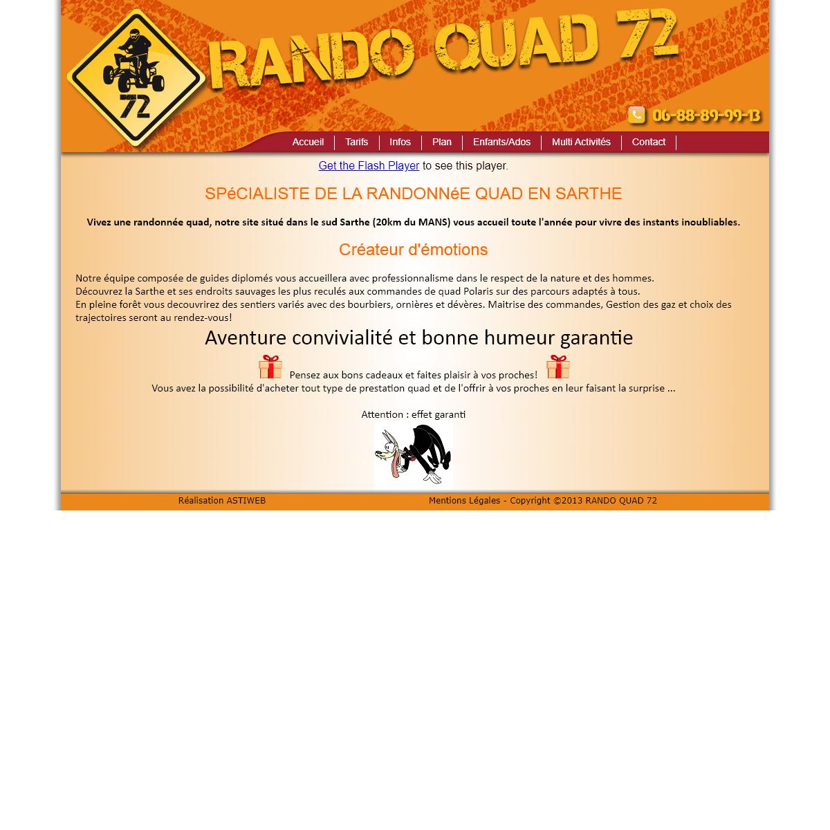 RANDO QUAD 72