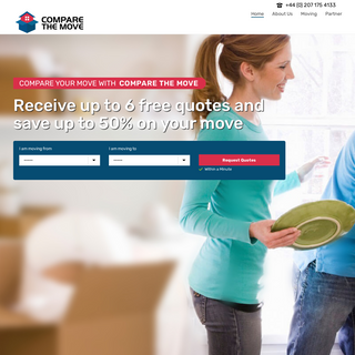 Compare The Move - Best Moving Services - Shipping and Removing Service Provider - Compare The Move