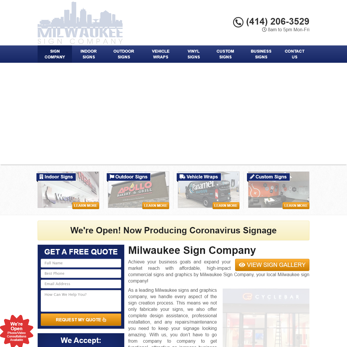 Best Milwaukee Sign Company - Custom Signs, Graphics, & Wraps Near Me