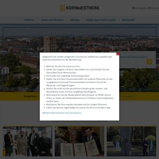 Stadt Kornwestheim- - Start