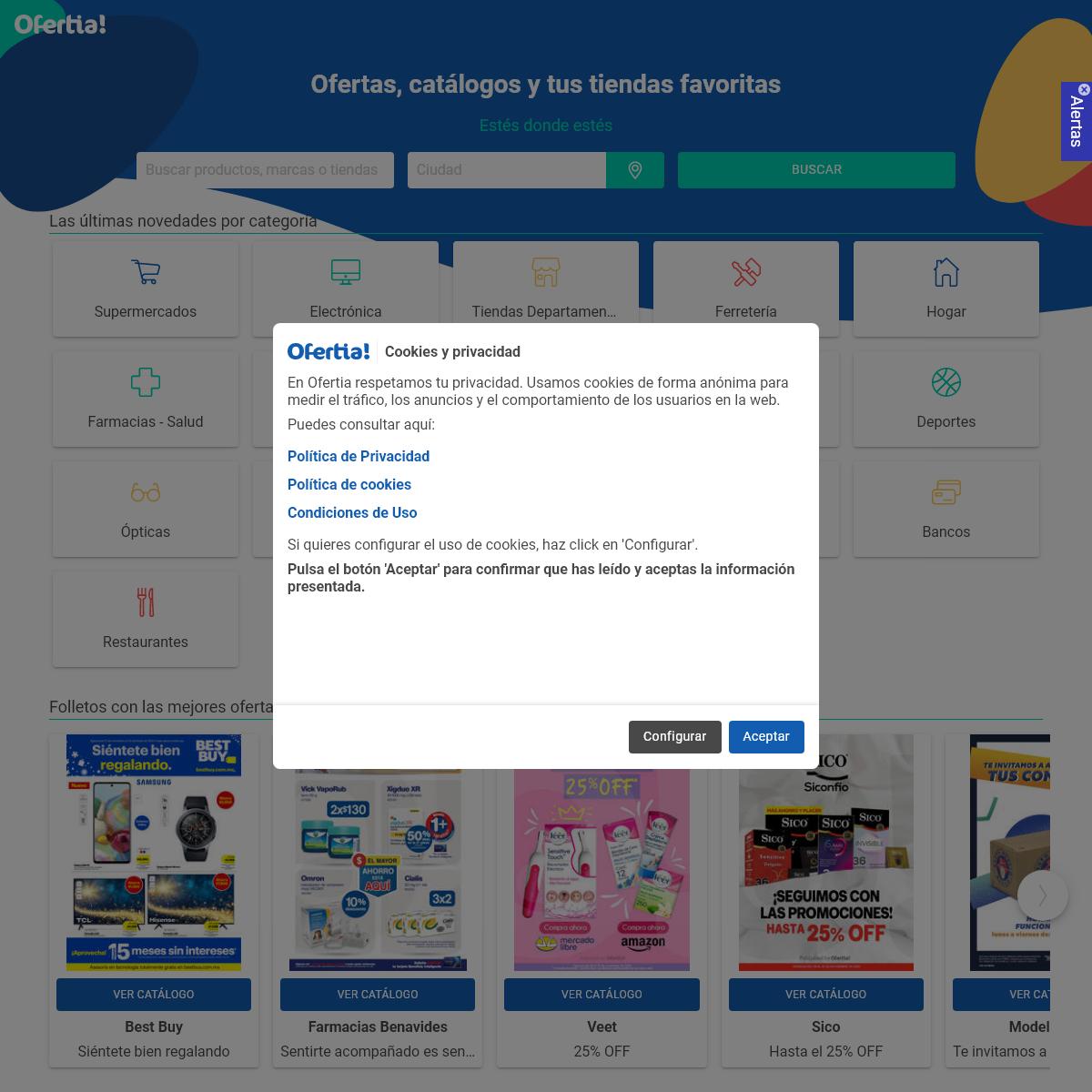 Ofertas, catálogos online y tiendas - Shopping en Ofertia