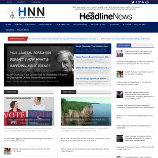 HNN – Higgins News Network - Higgins News Network HNN – The Latest Buzz, Analysis, and News Without the Snooze!