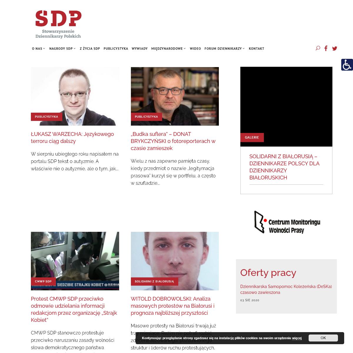 Strona główna - SDP