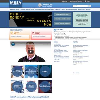MESA International - Home