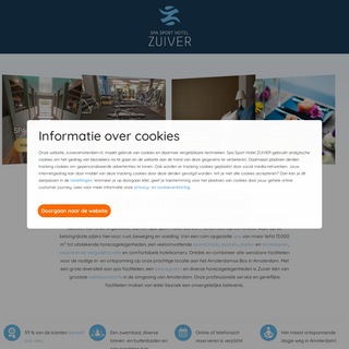 Spa & Wellness resort in Amsterdam - Officiële website