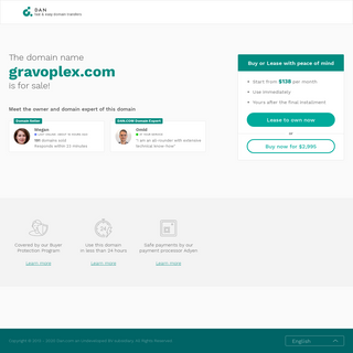 The domain name gravoplex.com is for sale
