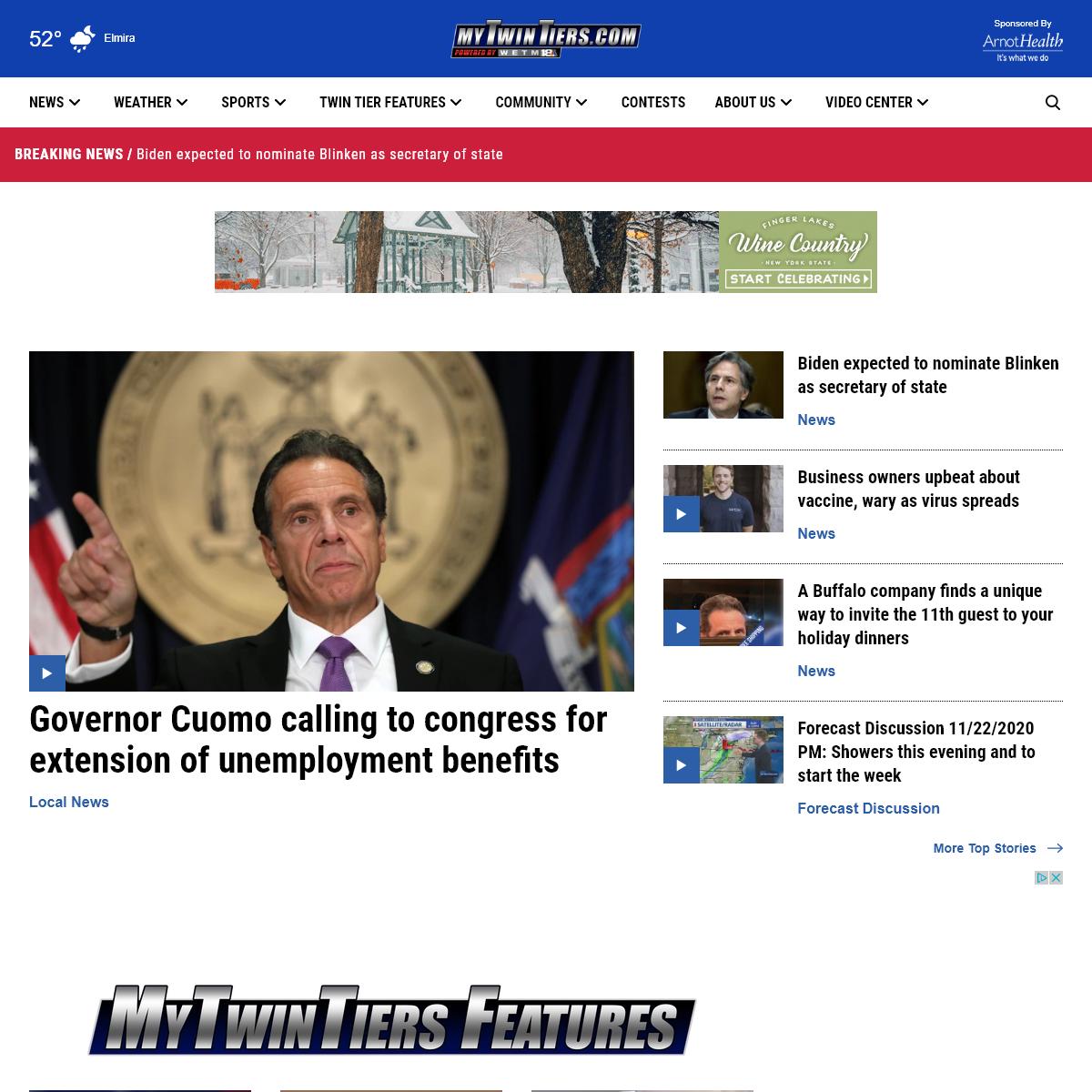 WETM 18 News - Elmira, NY News & Weather - MyTwinTiers.com