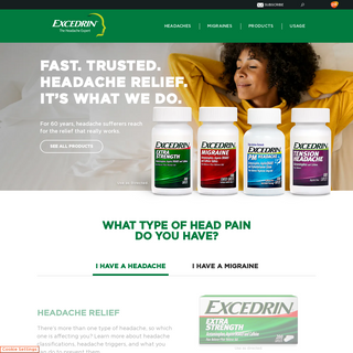Migraine Relief - Headache Relief - Excedrin®
