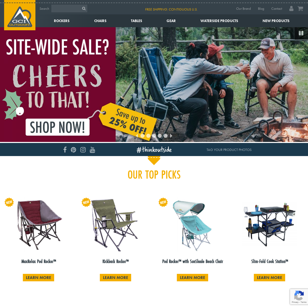 GCI Outdoor - Camping Chairs, Beach Chairs, & Outdoor Products