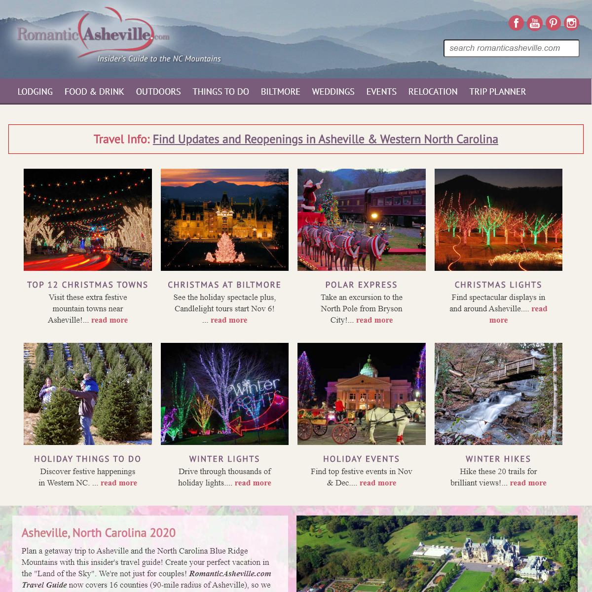 Asheville NC Insider's Travel Guide