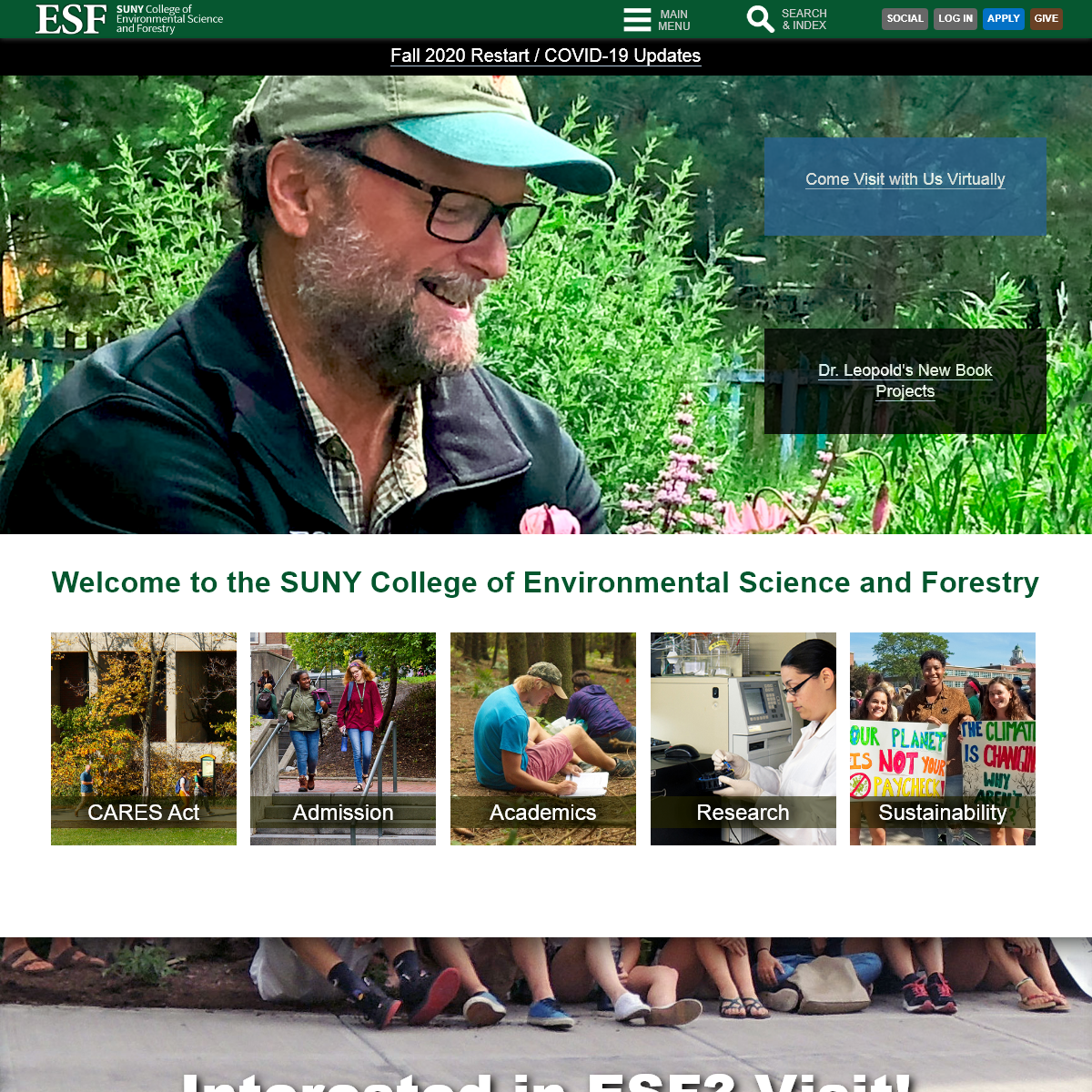 ESF - SUNY ESF - College of Environmental Science and Forestry