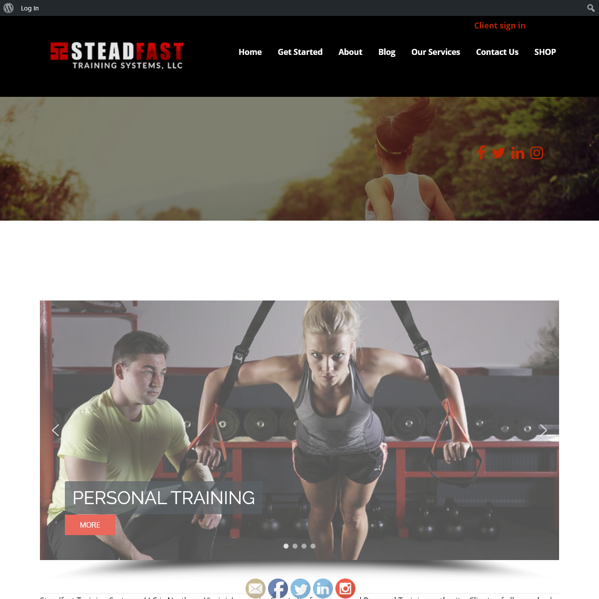 Welcome to Northern Virginia`s Elite Personal Training!