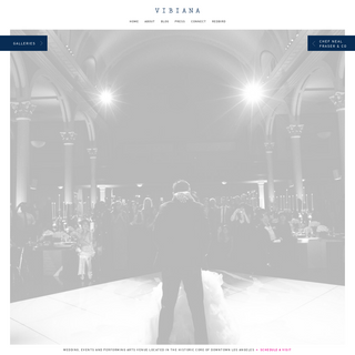 Vibiana - Wedding, Events and Performing Arts Venue - Located in the Historic Core of Downtown Los Angeles