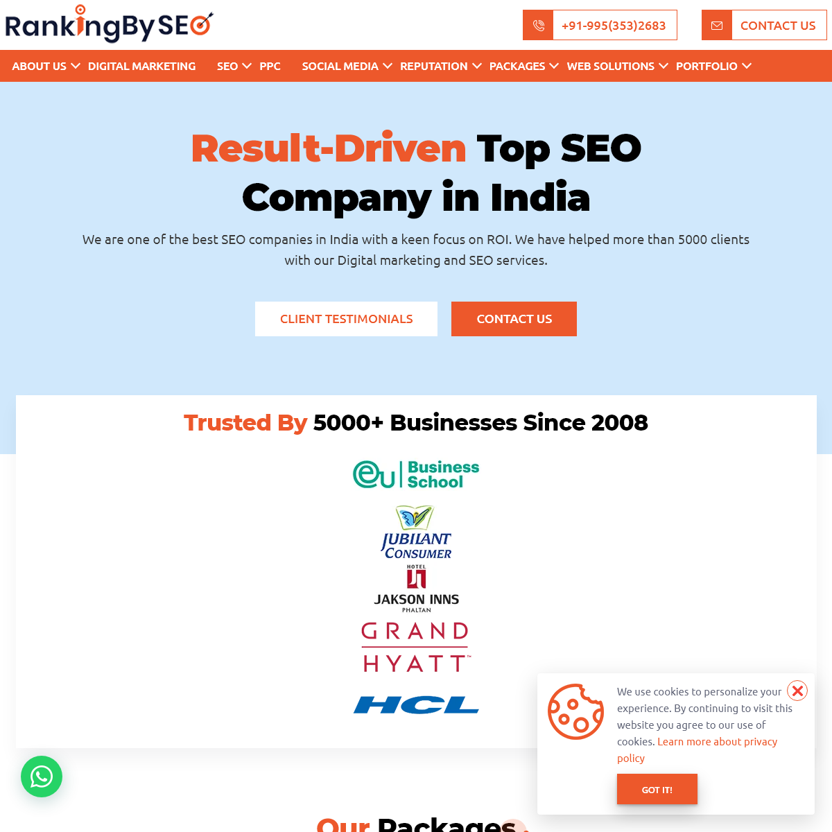 SEO India, Best SEO Services By Top SEO Company in India