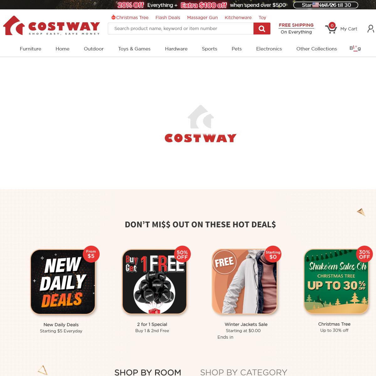 Costway- Shop easy. Save money.