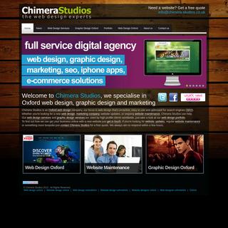 Chimera Studios Web Design Oxford