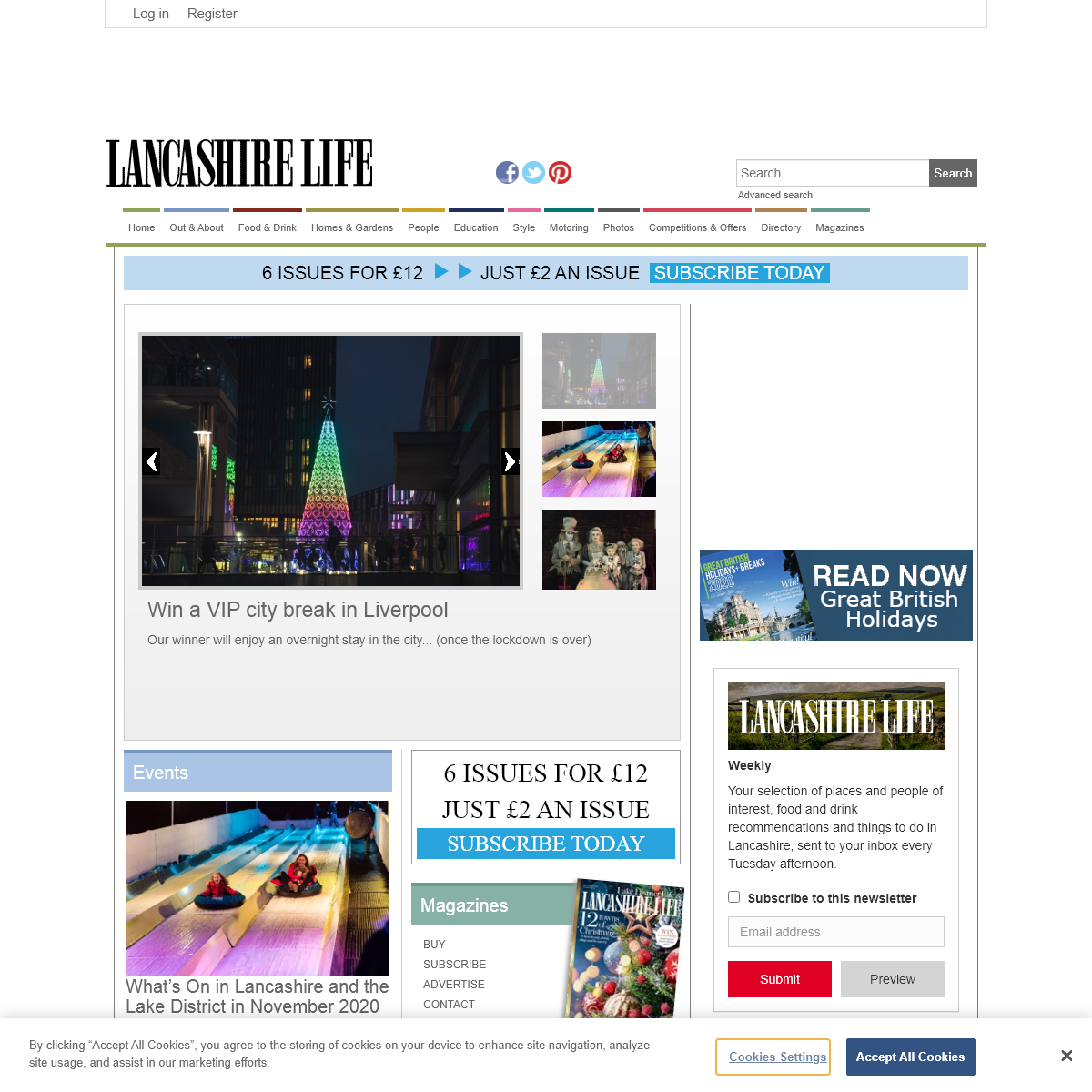 Things to do in Lancashire, events & lifestyle - Lancashire Life