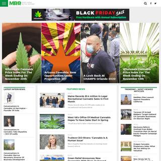 Marijuana Retail Report