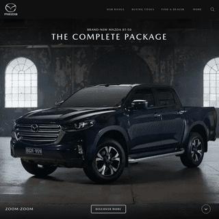 Mazda Australia - New Cars, Offers, Dealerships - Zoom-Zoom