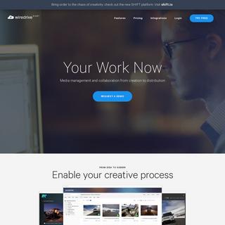 Wiredrive - Media sharing for creative companies