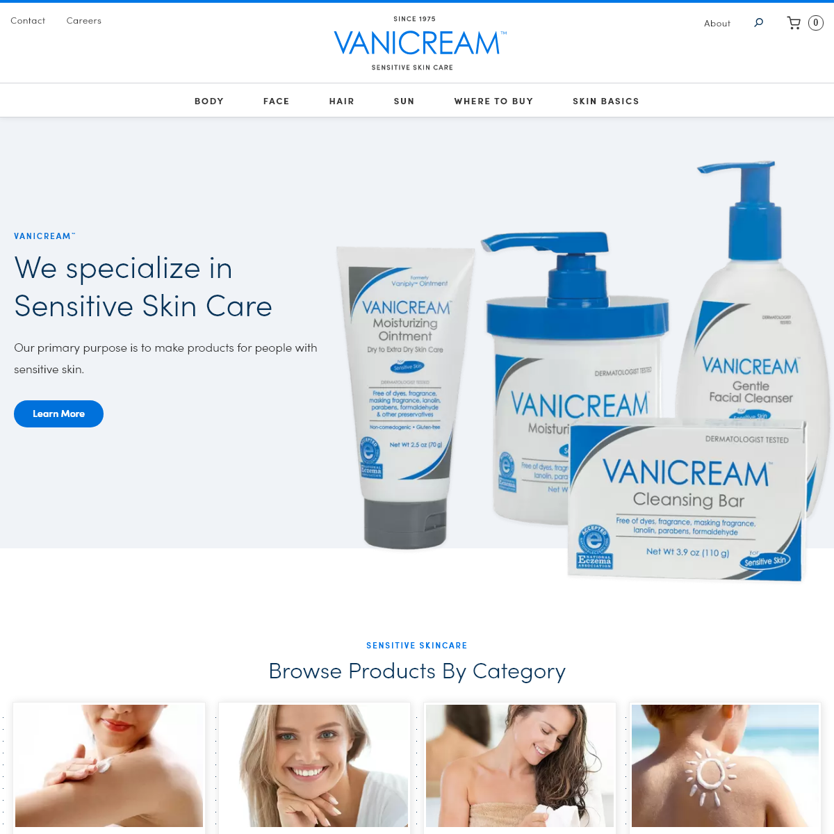 Vanicream - Fragrance Free Products for Sensitive Skin Care