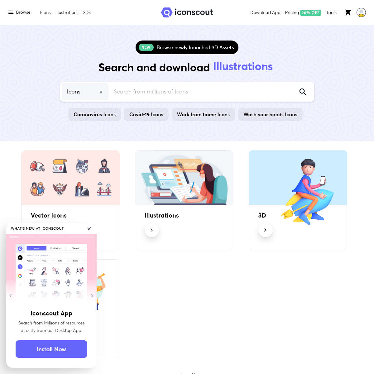Iconscout- Free Download Icons, Illustrations & Stock Photos