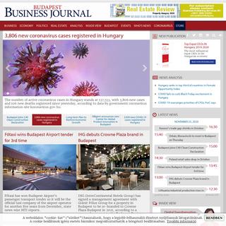 The Budapest Business Journal on the web - bbj.hu