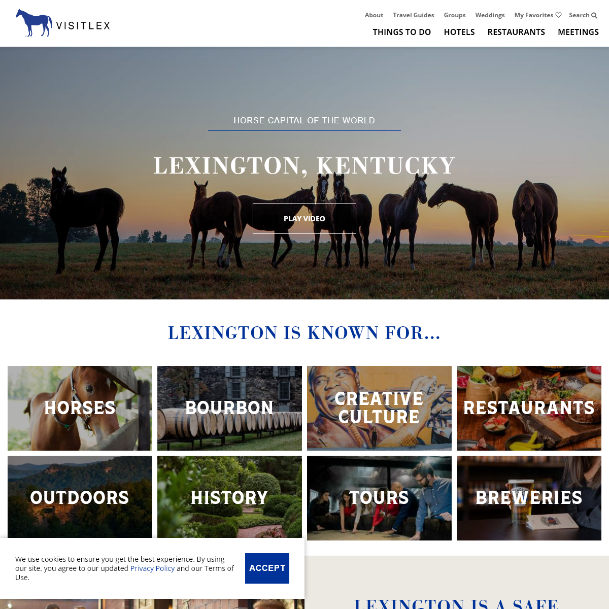 Horse Capital of the World- Lexington, Kentucky Visitor Information